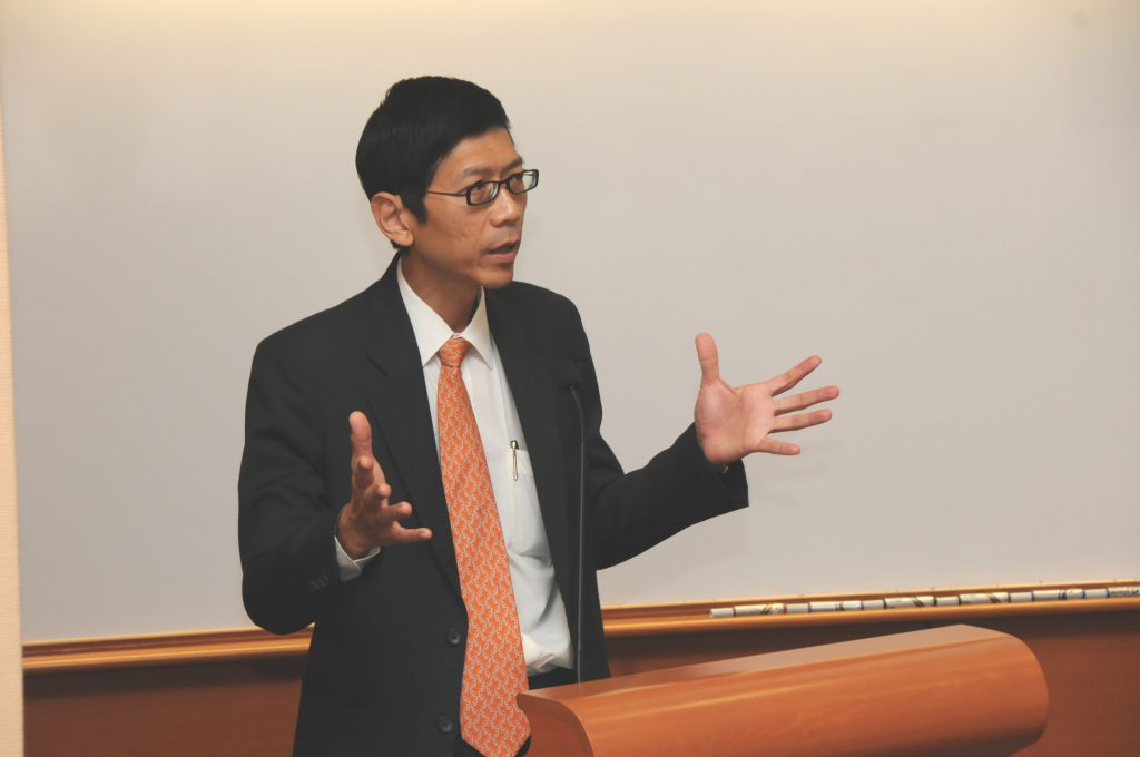 "President TAN embracing the idea of the mathematical institute <i class=""fas fa-video""></i>"