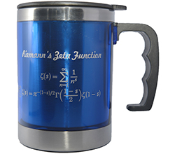 IMS Blue Mug (The Riemann Zeta Function, 12oz)<br /> Price: $15