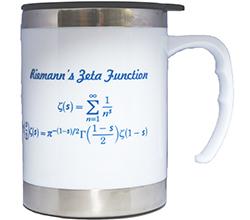 IMS White Mug (The Riemann Zeta Function, 12oz)<br /> Price: $15
