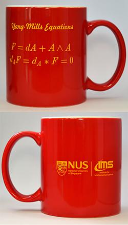 IMS Red Mug (Yang-Mills Equations, 12oz)<br /> Price: $15