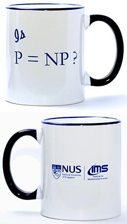 IMS White Mug (P Vs NP, 12oz)<br /> Price: $15