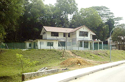 Front left view of house 4