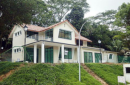 Front view of house 4